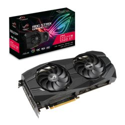 Asus ROG STRIX RX5500 XT OC, 8GB DDR6, PCIe4, HDMI, 3 DP, 1865MHz Clock, 0dB Tech, RGB Lighting, Overclocked