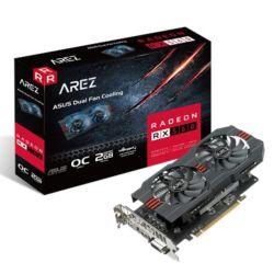 Asus AREZ Radeon RX 560, 2GB DDR5, PCIe3, DVI, HDMI, DP, 1197MHz Clock, Overclocked
