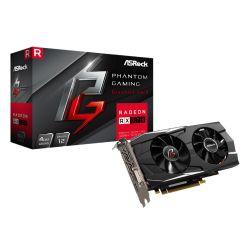 Asrock Phantom Gaming D Radeon RX570 4G, 4GB DDR5, PCIe3, DVI, HDMI, 3DP, 1293MHz Clock