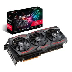 Asus RX5700 8G OC, 8GB DDR6, PCIe4, HDMI, 3 DP, 0dB, RDNA, 1750MHz Clock, RGB Lighting, Overclocked