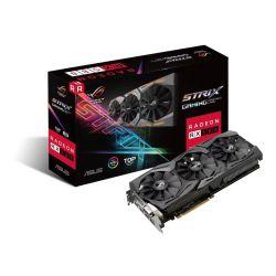 Asus Radeon ROG STRIX RX580 TOP, 8GB DDR5, DVI, 2 HDMI, 2 DP, 1431MHz Clock, RGB Lighting