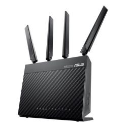 Asus 4G-AC68U AC1900 600+1300 Wireless Dual Band 4G LTE Router, 4-Port, WAN Port, USB 3.0
