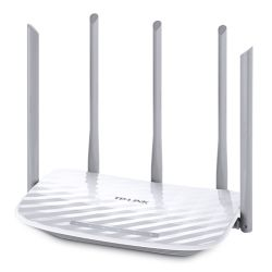 TP-LINK (Archer C60) AC1350 Wireless Dual Band 10/100 Cable Router, 5 Antennas