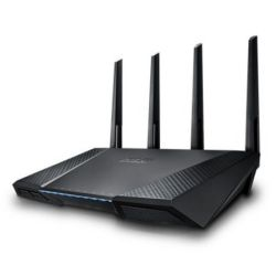 Asus RT-AC87U AC2400 600+1734 Wireless Dual Band GB Cable Router, MIMO, USB 3.0