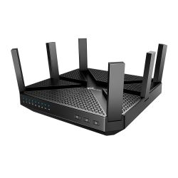TP-LINK (ARCHER C4000) AC4000 (1625+1625+750) Wireless Tri-Band Cable Router, MU-MIMO, Quad Core CPU, MU-MIMO, USB 3.0