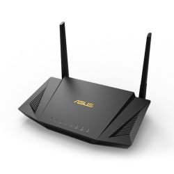 Asus (RT-AX56U) AX1800 (1201+574Mbps) Wireless Dual Band Router, MU-MIMO & OFDMA, 802.11ax, AiMesh Compatible