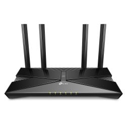 TP-LINK (Archer AX50) AX3000 (574 + 2402Mbps) Wireless Dual Band Router, Wi-Fi 6, OFDMA, 6-Port, 3Gbps WAN, MU-MIMO, USB 3.0