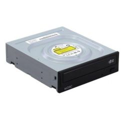 LG DVD Re-Writer, SATA, 24x, Black, No Software, M-Disc Support, OEM