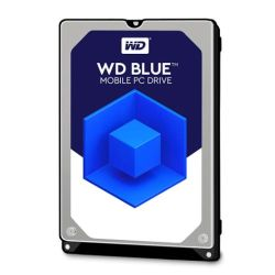 "WD 2.5"", 1TB, SATA3, Blue Mobile Hard Drive, 5400RPM, 128MB Cache, 7mm"