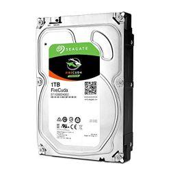 """Seagate 3.5"""", 1TB, SATA3, FireCuda SSHD Hybrid Desktop Hard Drive, 8GB SSD, 7200RPM, 64MB"""