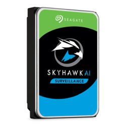 "Seagate 3.5"", 10TB, SATA3, SkyHawk AI Surveillance Hard Drive, 7200RPM, 256MB Cache, 24/7, OEM"
