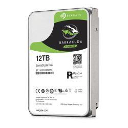 "Seagate 3.5"", 12TB, SATA3, BarraCuda Pro Hard Drive, 7200RPM, 256MB Cache, 2 Yr Data Recovery Service"