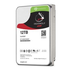"Seagate 3.5"", 12TB, SATA3, IronWolf NAS Hard Drive, 7200RPM, 256MB Cache, OEM"