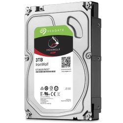 "Seagate 3.5"", 3TB, SATA3, IronWolf NAS Hard Drive, 5900RPM, 64MB Cache, OEM"