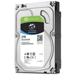 """Seagate 3.5"""", 3TB, SATA3, SkyHawk Surveillance Hard Drive, 64MB Cache, 24/7"""