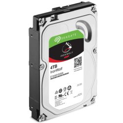 "Seagate 3.5"", 4TB, SATA3, IronWolf NAS Hard Drive, 5900RPM, 64MB Cache, OEM"