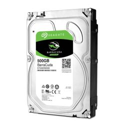 "Seagate 3.5"", 500GB, SATA3, BarraCuda Hard Drive, 7200RPM, 32MB Cache"