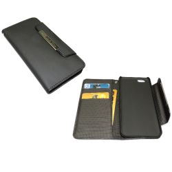 Sandberg iPhone 6 CaseFlip Wallet, Black, 5 Year Warranty