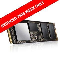 ADATA 1TB XPG SX8200 PRO M.2 NVMe SSD, M.2 2280, PCIe, 3D NAND, R/W 3500/3000 MB/s, XPG Heatsink Included