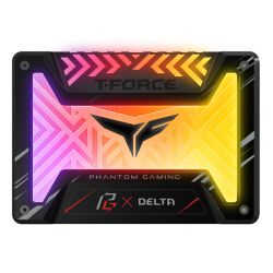 Asrock 500GB T-FORCE DELTA Phantom Gaming RGB SSD,  2.5