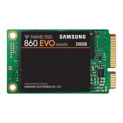 Samsung 250GB 860 EVO mSATA SSD, SATA3, V-NAND, R/W 550/520 MB/s