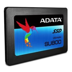 "ADATA 256GB Ultimate SU800 SSD, 2.5"", SATA3, 7mm (2.5mm Spacer),  3D NAND, R/W 560/520 MB/s"
