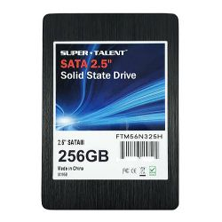 "Super Talent 256GB TeraNova SSD Drive, 2.5"", SATA3, TLC NAND, R/W 530/450 MB/s, 7mm"