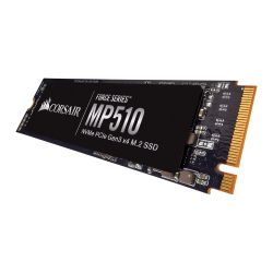 Corsair 480GB Force Series MP510, M.2 NVMe SSD, M.2 2280, PCIe, 3D NAND, RW 34802000 MBs