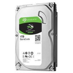 Seagate 3.5in 1TB SATA3 BarraCuda Hard Drive 7200RPM 64MB Cache
