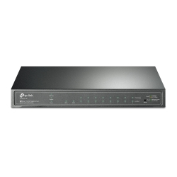 TP-LINK (TL-SG2210P V3) JetStream 8-Port Gigabit PoE Smart Switch, 2 SFP Ports, Steel Case
