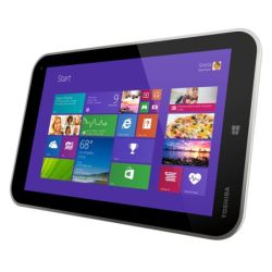 Toshiba WT8-A-102 Tablet, 8, 1280 x 800, Quad Core, 2GB, 32GB, Win 8.1, Home & Student, Case