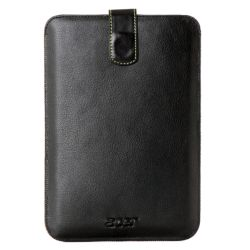 Acer Iconia B1-710 Tablet Case, Faux Leather, Internal Pull Strap, Black