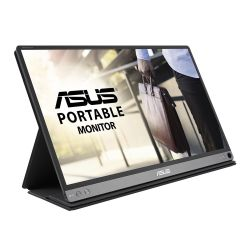 Asus 15.6 Portable IPS Monitor MB16AP, 1920 x 1080, USB Type-C, USB-powered, Ultra-slim, Auto-rotatable, Smart Case Stand