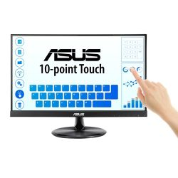 "Asus 21.5"" Frameless IPS LED Touchscreen Monitor (VT229H), 1920 x 1080, 5ms, VGA, HDMI, Speakers, VESA"