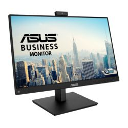 """Asus 23.8"""" Frameless Video Conferencing Monitor (BE24EQSK) with FHD Webcam, Mic Array, IPS, 1920 x 1080, VGA, HDMI, DP, Speakers, VESA"""