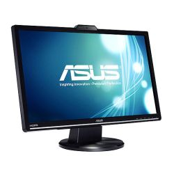 Asus 24 LED Monitor VK248H, 1920 x 1080, 2ms, 50M1, VGA, DVI, HDMI, HD Webcam, Speakers, VESA