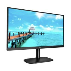 "AOC 23.8"" Frameless LED Monitor (24B2XDAM), 1920 x 1080, 75Hz, VGA, DVI, HDMI, Flicker Free, Speakers, VESA"