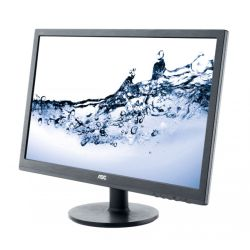 AOC 23.6 LED TFT E2460SH, 1920 x 1080, 1ms, VGA, DVI, HDMI, Speakers, VESA, 3 Years On-site Warranty