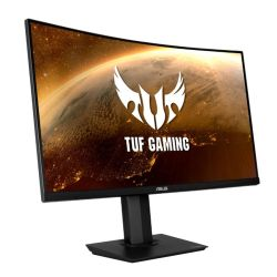 "Asus 32"" ROG TUF Gaming WQHD Curved HDR Monitor (VG32VQ), 2560 x 1440, 1ms, 2 HDMI, DisplayPort, 144Hz, Speakers, VESA"