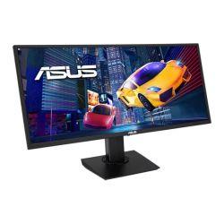 "Asus 34"" UWQHD Ultra-wide Gaming Monitor (VP348QGL), 3440 x 1440, 4ms, 2 HDMI, DP, HDR-10, Shadow Boost, Speakers, VESA"