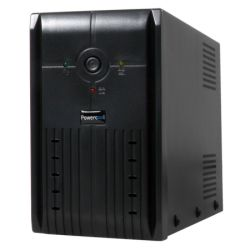 Powercool 1000VA Smart UPS, 600W, LED Display, 3 x UK Plug, 2 x RJ45, 3 x IEC, USB