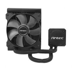 Antec H600 PRO All in One CPU Liquid Cooler, 120mm Radiator, 12cm Blue LED Fan, High Performance Pump