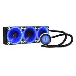 Antec Mercury 360 Liquid CPU Cooler, 360mm Radiator, 12cm PWM Fan - Temp Indicating LED Colours