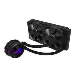 Asus ROG STRIX LC240 240mm Liquid CPU Cooler, 2 x 12cm PWM Fans, RGB