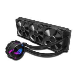 Asus ROG STRIX LC360 36cm Liquid CPU Cooler, 3 x 12cm PWM Fans, RGB