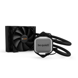 Be Quiet! Pure Loop 120mm Liquid CPU Cooler, 2 x 12cm Pure Wings 2 PWM Fans, White LED Lighting
