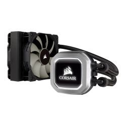 Corsair Hydro H75 120mm Liquid CPU Cooler, 2 x 12cm PWM Fans, LED Pump Head