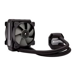 Corsair Hydro H80i v2 120mm RGB Liquid CPU Cooler, 2 x 12cm PWM Fans