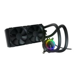 Fractal Design Celsius+ S24 Dynamic 240mm ARGB Liquid CPU Cooler, PWM Fan Hub, ARGB Pump, 2x Dynamic X2 GP-12 PWM Fans