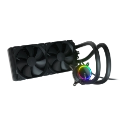 Fractal Design Celsius+ S28 Dynamic 280mm ARGB Liquid CPU Cooler, PWM Fan Hub, ARGB Pump, 2x Dynamic X2 GP-14 PWM Fans